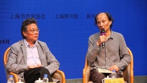 金宇澄张大春书展开讲:作家不该用汉字写西方小说