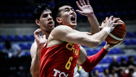 拒绝战略性放弃!中国男篮拼尽全力战胜伊拉克
