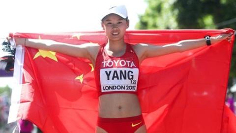 女子20km竞走冠军杨家玉:让天堂的父亲为我骄傲