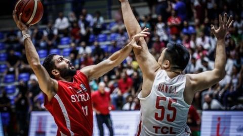 大逆转!亚洲杯中国男篮险胜叙利亚晋级八强