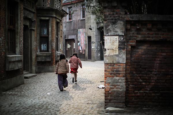 老上海的弄堂