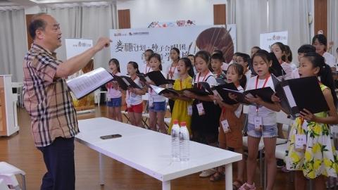 山里娃在上海播下艺术梦想的种子