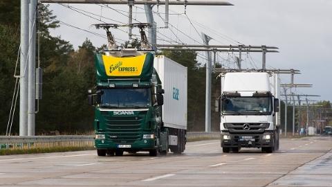 德国建设首条电气化公路