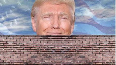 """特朗普再放豪言: 即使政府停摆也要""""修墙"""""""