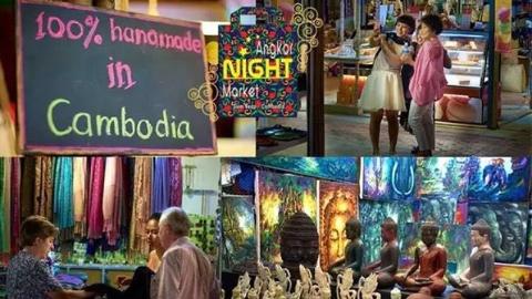 柬埔寨要求向外国游客出售正品纪念品