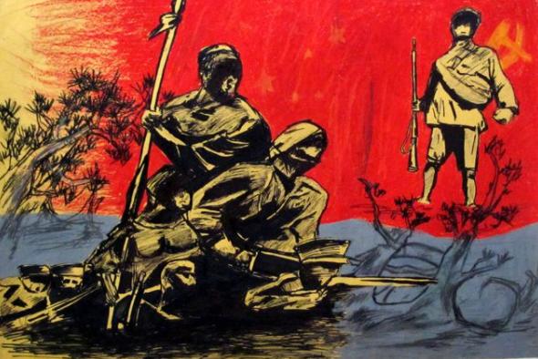 红色革命人物简笔画
