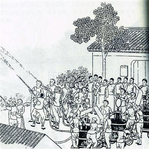 上海苏州河手绘作品