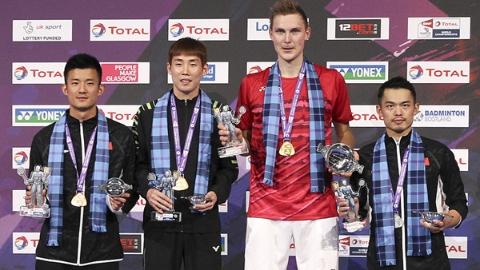 羽毛球世锦赛:中国队在低谷中艰难回升