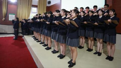 """金山:上海枫叶国际学校举行""""周恩来班""""命名仪式"""