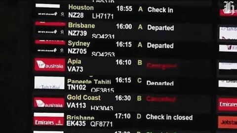 奥克兰唯一输油管发生泄漏,机场大面积瘫痪