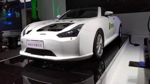 """现实生活中会下起""""速8""""的""""汽车雨""""吗?360联合威马汽车发布全球首款网络安全概念车"""