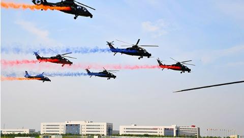 旋翼风雷:天津直升机博览会一线目击