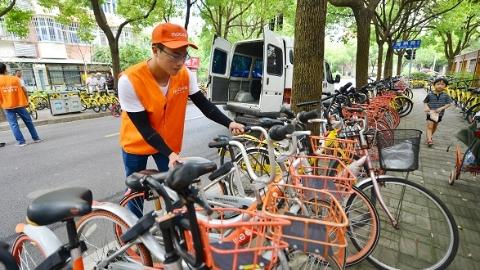 话题 | 泊位有限需求无穷?沪共享单车人均骑行仅1.8公里 走走更健康