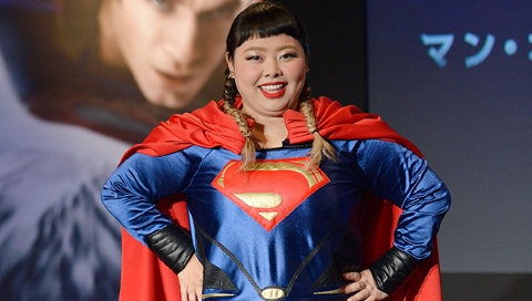 日本胖妹完美演绎自信就是美