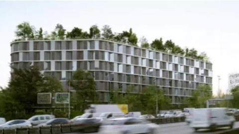 巴黎大学城将建中国楼(附概念图户型图)