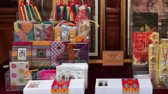四千公里外的藏地艺术并不遥远 来吴昌硕纪念馆看唐卡展