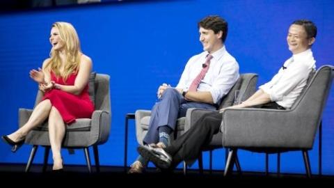 """""""中国才是加拿大最大市场!""""马云多伦多演讲燃爆全场"""