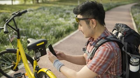 共享单车进入4.0时代  贴近解锁更便捷