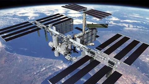 """俄美将共建绕月国际空间站""""深空门户"""""""