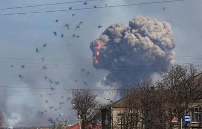 乌克兰军事检察院初步判定 军火库爆炸系人为破坏