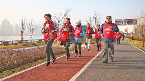 滨江45公里公共空间贯通 | 幸福水岸的新年新装