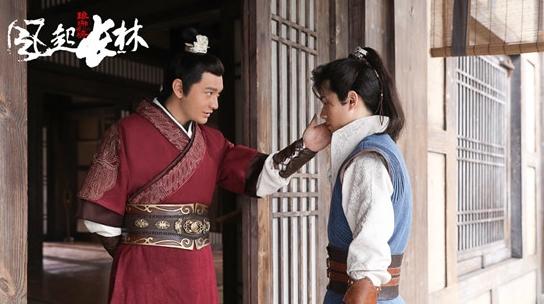 黄晓明:脱胎换骨上《琅琊榜2》 饰演萧平章是缘分使然