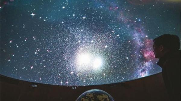 上海天文博物馆球幕厅升级工程完工 上佘山一睹更绚烂宇宙深空