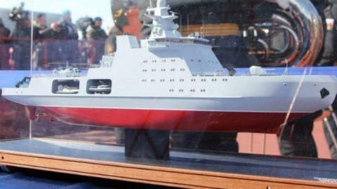 俄战斗破冰舰保卫北极利益