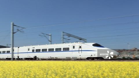 2020年全国高铁将达3万公里左右 覆盖80%以上的大城市