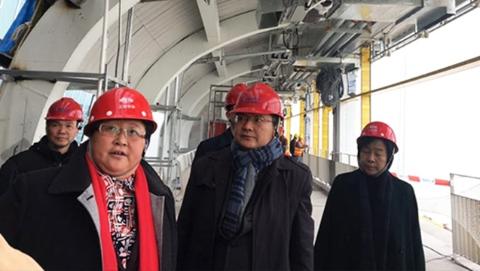 新年首个工作日各区大调研 | 宝山区领导走访调研重大工程建设推进情况