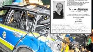德国殉职女警察讣告感人至深,亲属希望不要献花