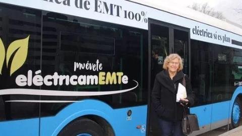 四海城事 | 西班牙首辆无线充电公交即将亮相马德里