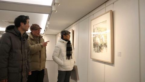 崇明静安两区画家共绘崇明 展出80幅作品