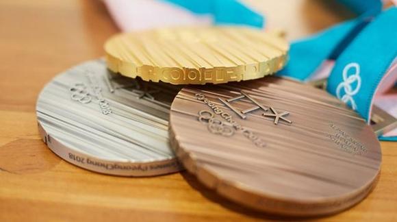 6斤黄金500斤银价值数百万!平昌冬奥奖牌史上最重