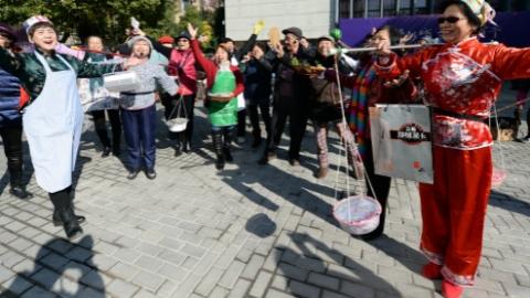 彭浦新村街道今年将购买29个公益服务项目