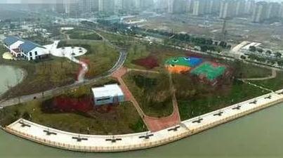 上海金山6万平米高颜值公园已正式开放