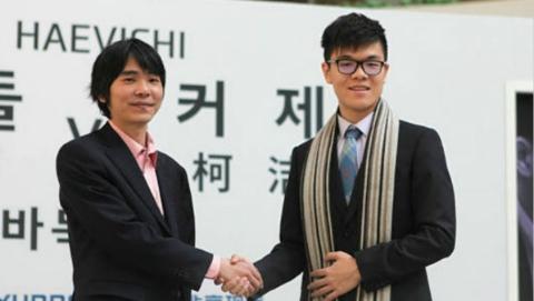 中韩特别棋战在济州岛上演 李世石顽强逆转战胜柯洁