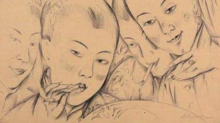 基奇金:80年前他画的上海人,你看过吗?