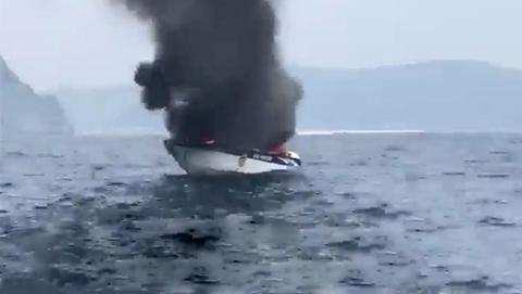泰国快艇漏油爆炸 5名中国游客重伤
