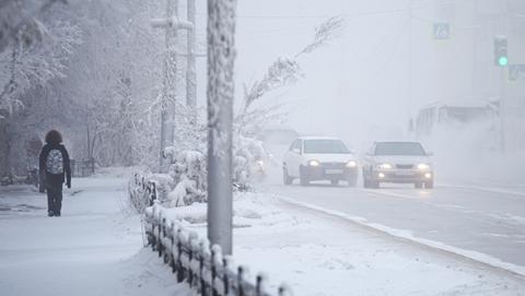 -67℃!俄罗斯东部雅库特地区遭遇极寒天气