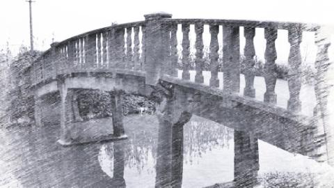 浦东现有18座保存较好的民国时期水泥桥,不过它们正在渐渐消失……