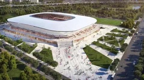 浦东足球场未来长啥样?规划设计方案公示啦