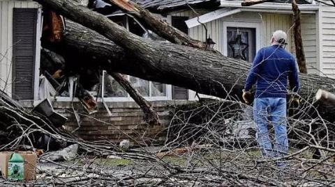 飓风又来横扫欧洲,荷兰德国意大利全都刮惨了