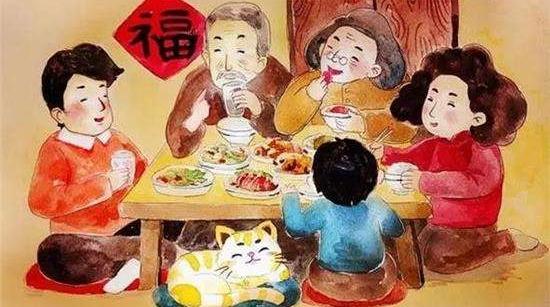 胡展奋:马年春节