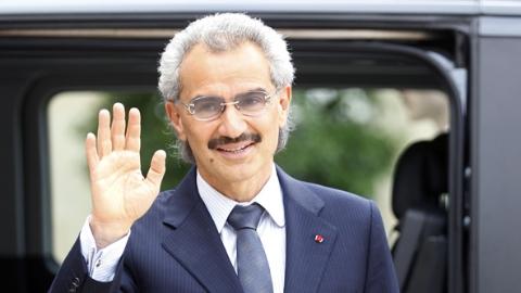 沙特首富阿勒瓦利德王子获释回家
