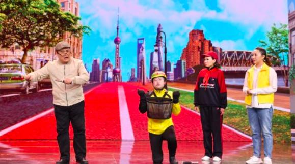 """""""上海牌""""笑声响彻首届中国相声小品大赛 《共享单车的一天》获总决赛第三场最高分"""