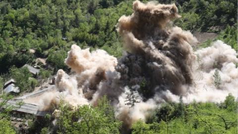 美方称朝鲜邀请核查人员确认丰溪里核试验场废弃情况