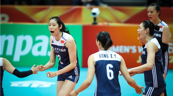中国女排3比0轻取阿塞拜疆,郎平:每局每分必争