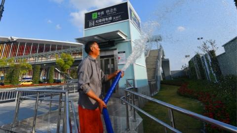 迎接进博会 | 青浦服务保障进博会66个配套项目完工