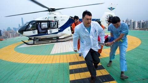 护航上海进口博览会健康安全 瑞金医院开展航空医疗救援实战演练